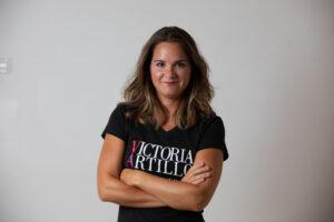 Directora del Estudio, Victoria Artillo.