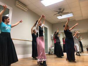 Clases de Bulerías en Estudio de Danza & Música Victoria Artillo