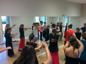 Masterclass en el Estudio de Danza&Música Victoria Artillo