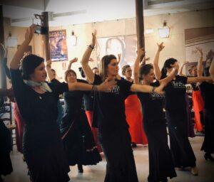 Victoria Artillo en el Festival Internacional del Flamenco de Jerez