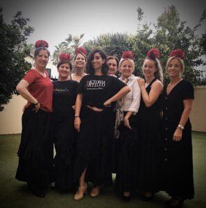 Clases de flamenco para adultos en Victoria Artillo