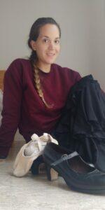 Jimena Pascel, alumna del Estudio