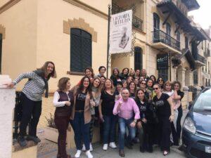 Alumnos de Victoria Artillo camino al Festival Internacional de Flamenco de Jerez